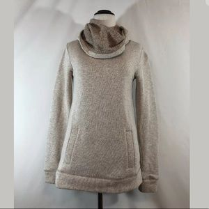 J. Crew Factory Cowl Neck Pullover in Tan Size XXS